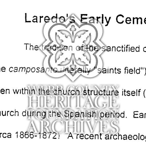 Cemeteries (Laredo)